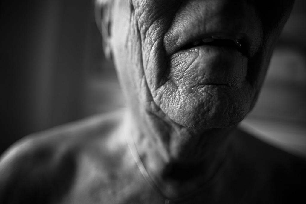 Fragmenter af en ældre herre
